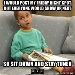 Olivia Cosby Show - I would post my friday night spot but everyone would show up nExt So sit down and stay tuNed 🙌🏻😂