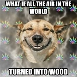 Stoner Dog - what if all the air in the world turned into wood
