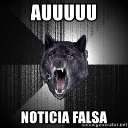 Insanity Wolf - auuuuu noticia falsa