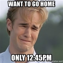 Dawson's Creek - WANT TO GO HOME ONLY 12:45PM