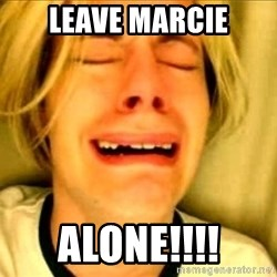 Leave Brittney Alone - leave marcie Alone!!!!