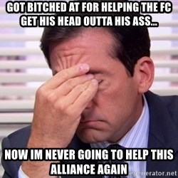 10564 - Got bitched at for helping the FC get his head outta his ass... Now im never going to help this alliance again
