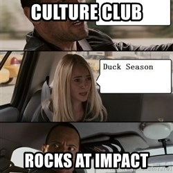The Rock driving - culture club rocks at impact