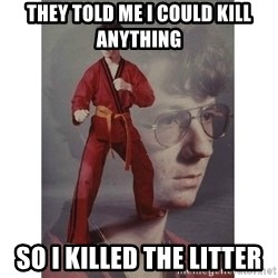Karate Kid - They Told Me I Could Kill Anything So I Killed THE litter