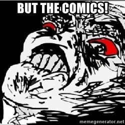 Omg Rage Face - But the comics!