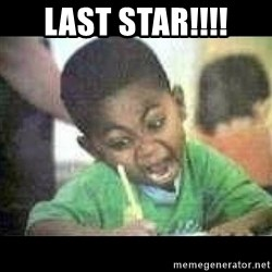 Black kid coloring - Last star!!!!