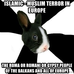 Roleplaying Rabbit - Islamic - Muslim Terror in Europe The Roma or Romani or Gypsy People of the Balkans and all of Europe