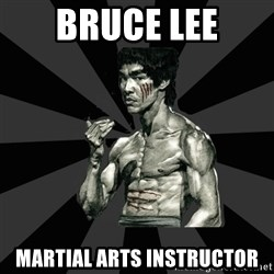 Bruce Lee Figther - bruce lee martial arts instructor