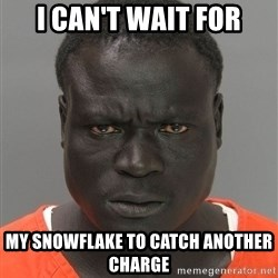 Jailnigger - I caN't waiT for My Snowflake to catch another charge