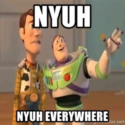 X, X Everywhere  - NYUH NYUH EVERYWHERE