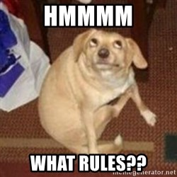 Oh You Dog - hmmmm what rules??