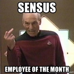 Picard Finger - Sensus Employee of the moNth