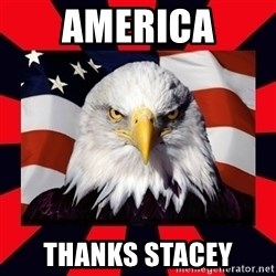 Bald Eagle - America thanks stacey