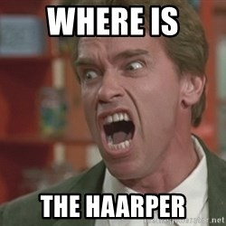 Arnold - Where is  THE HAARPER