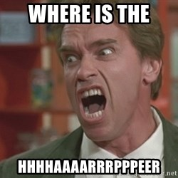 Arnold - Where is THe  HHHHAAAARRRPPPEER