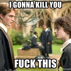 Harry Potter  - I GONNA KILL YOU FUCK THIS