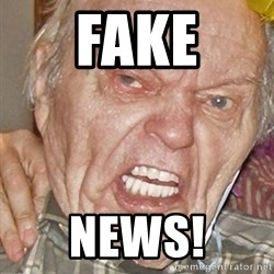 Grumpy Grandpa - Fake News!