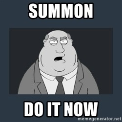 Family Guy Smoke - Summon Do it now