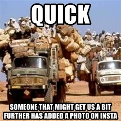 BandWagon - Quick Someone that might get us a bit further has added a photo on insta