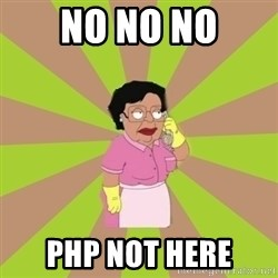 Consuela Family Guy - no no no php not here