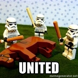 Beating a Dead Horse stormtrooper -  united