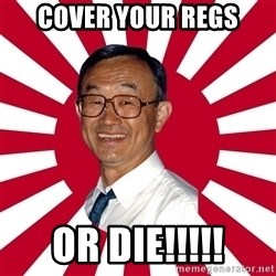 Crazy Perverted Japanese Businessman - cover your regs or die!!!!!