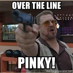 WalterGun - OVER THE LINE PINKY!