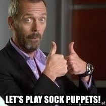 cool story bro house -  Let's play sock puppets!