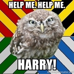 JEALOUS POTTEROMAN - Help me. Help ME. HArry!