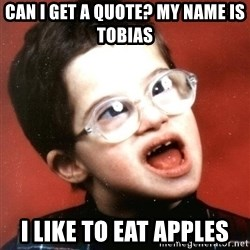 Are You A Wizard - Can i get a quote? my name is tobias i like to eat apples