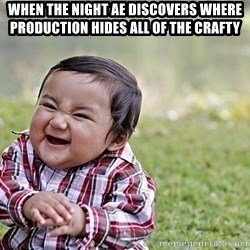 Evil Asian Baby - when the night ae discovers where production hides all of the crafty