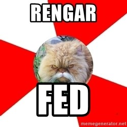Diabetic Cat - Rengar Fed