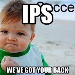 success baby - IPS We've got your back