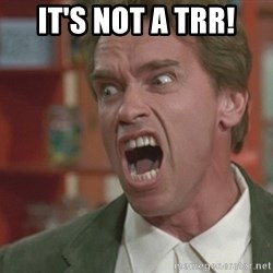 Arnold - IT'S NOT A TRR!