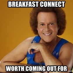 Gay Richard Simmons - BREAkfast connect worth coming out for