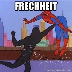 crotch punch spiderman - frechheit