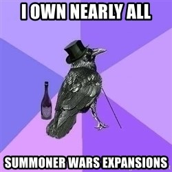 Rich Raven - i own nearly all summoner wars expansions