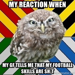 JEALOUS POTTEROMAN - My REACTION when My gf TELls me that my football SKILLS are sh*t