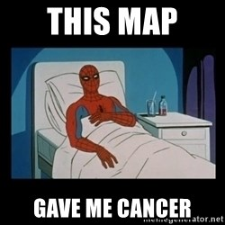 it gave me cancer - This map  Gave me cancer