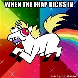 Lovely Derpy RP Unicorn - when the frap kicks in