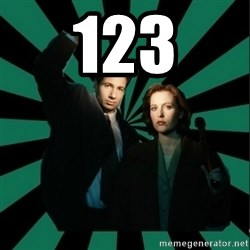 "Typical fans ""The X-files"" - 123"
