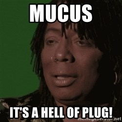 Rick James - MUCUS  It's a hell of plug!