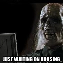 OP will surely deliver skeleton -  just waiting on housing