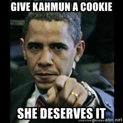 obama pointing - Give kahmun a cookie she deserves it