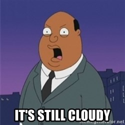ollie williams -  IT'S STILL CLOUDY