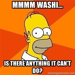 Homer Advice - mmmm washi... is there anything it can't do?