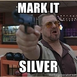 WalterGun - Mark it Silver