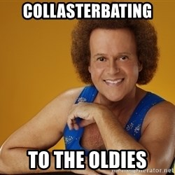 Gay Richard Simmons - Collasterbating to the oldies