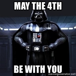 Bitch Darth Vader - may the 4th be with you