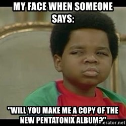 "niyoka - My face when someone says: ""Will you make me a copy of the new Pentatonix album?"""